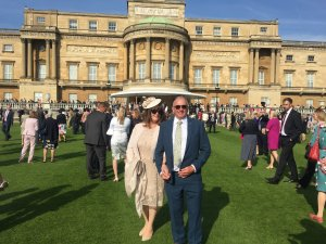Cllr Clifton visits Buckingham Palace