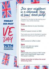 VE Day Celebrations - Friday 8th May 2020